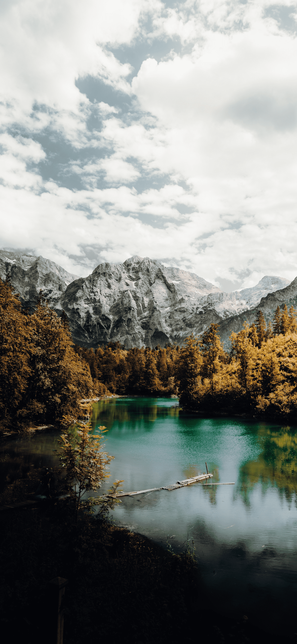 iPhone wallpapers lake odseen Lake
