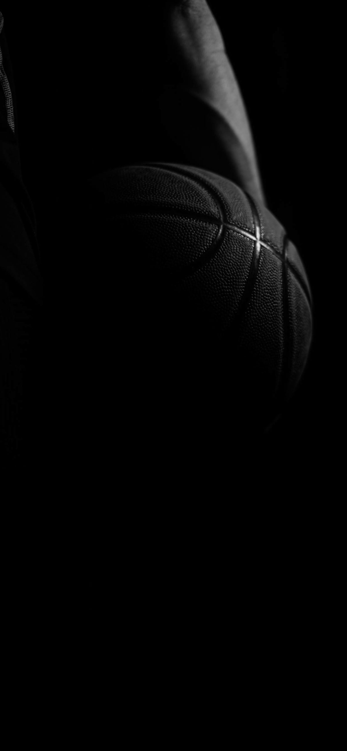 iPhone wallpapers black ball scaled Black