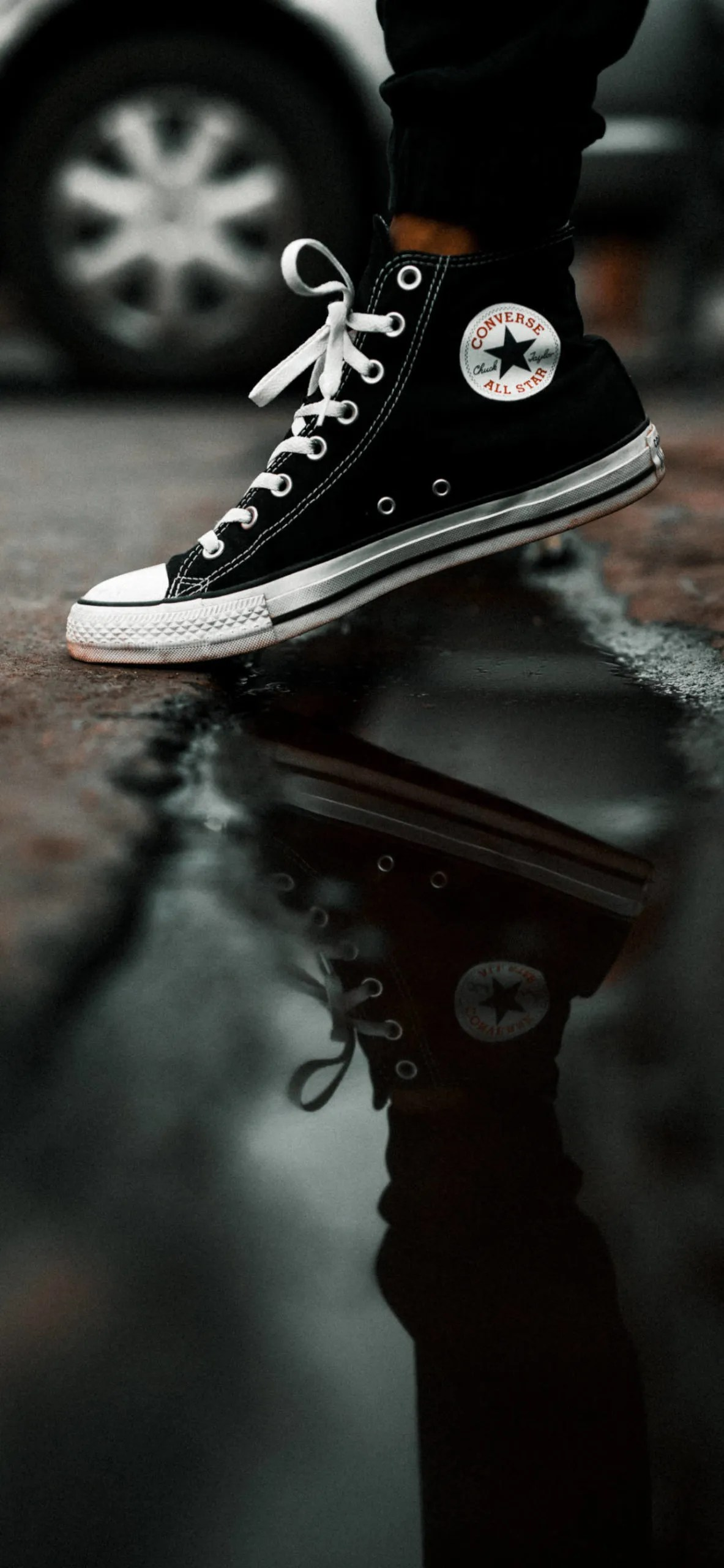 iPhone wallpapers converse allstar black scaled Converse