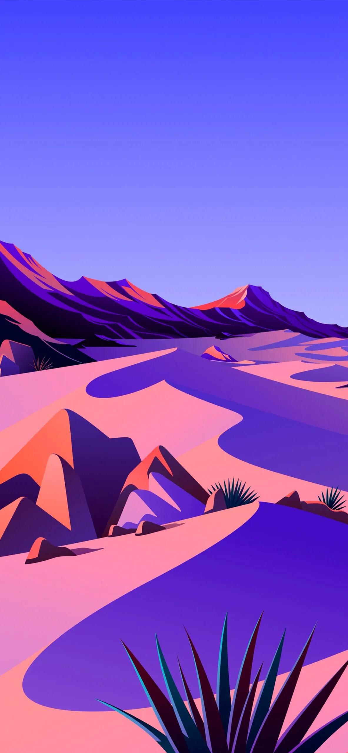 iphone wallpaper big sur desert2 scaled Mac OS Big Sur (Desert)