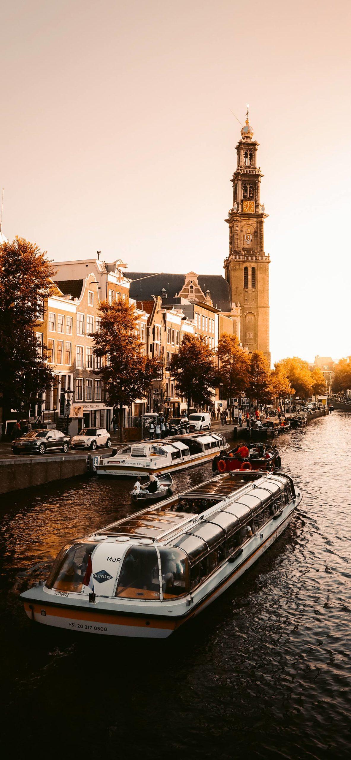 iphone Wallpaper amsterdam sunset scaled Amsterdam