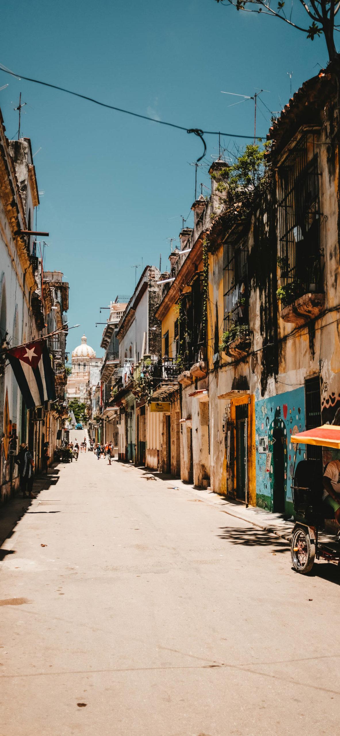 iPhone wallpapers cuba street flag scaled Cuba