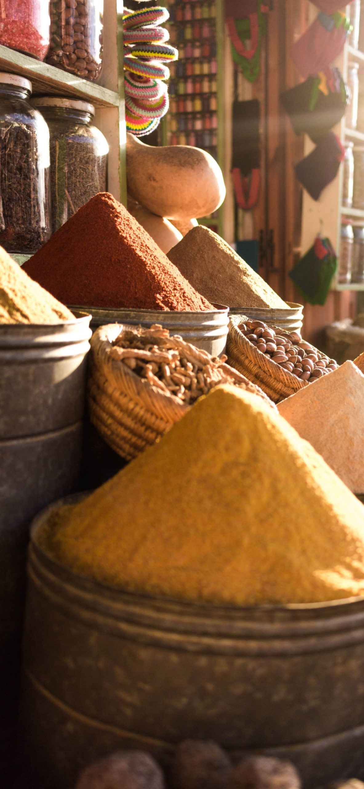 iPhone wallpapers marrakech spices scaled Marrakech