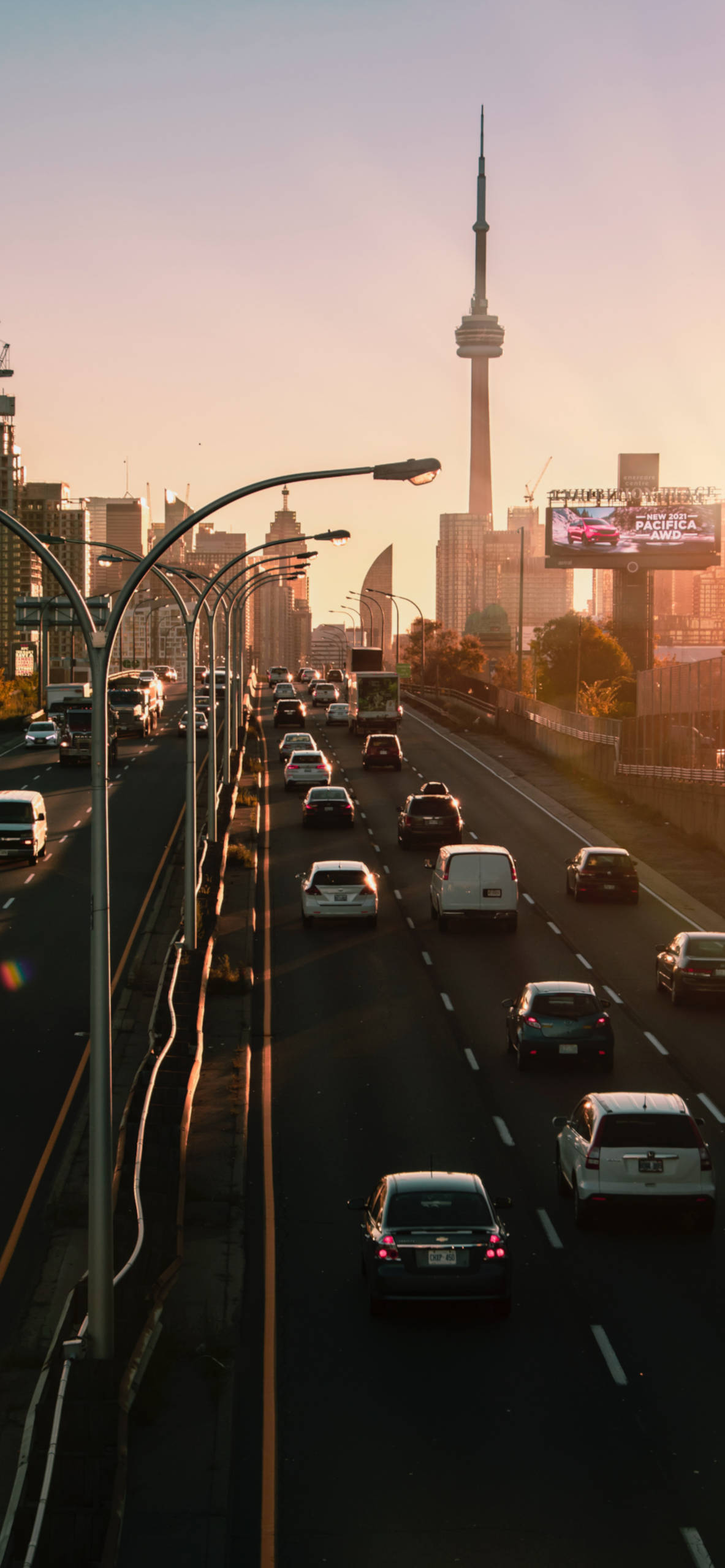 iPhone wallpapers toronto canada dufferin street bridge Toronto