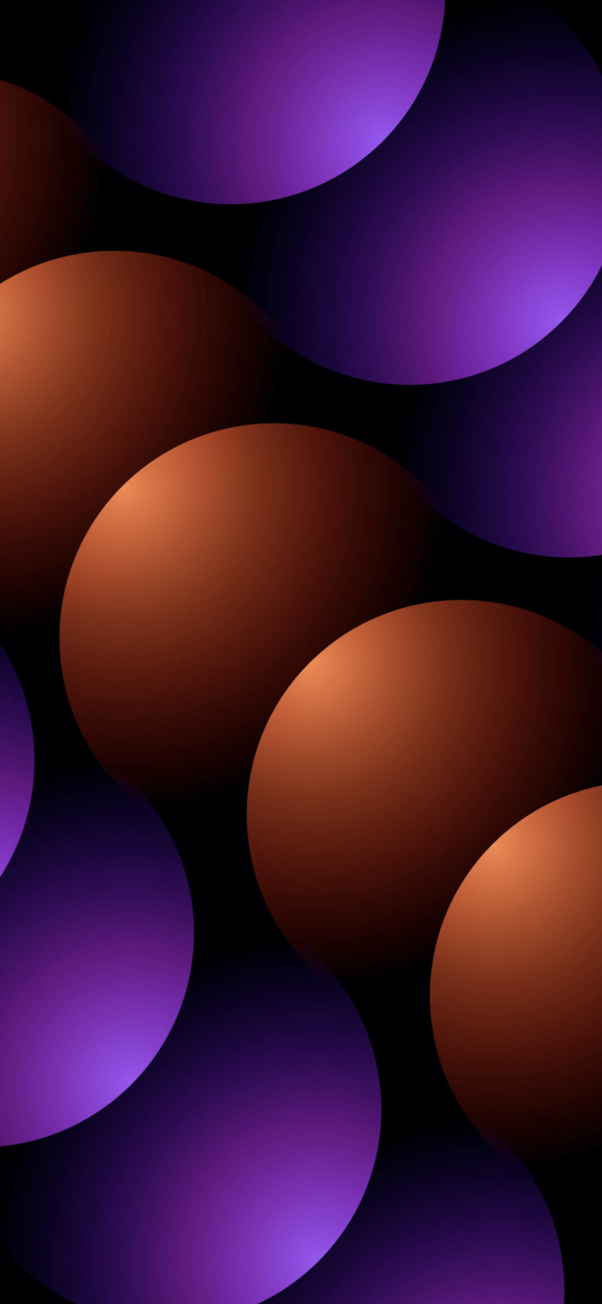 iPhone wallpapers abstract orange purple scaled Abstract