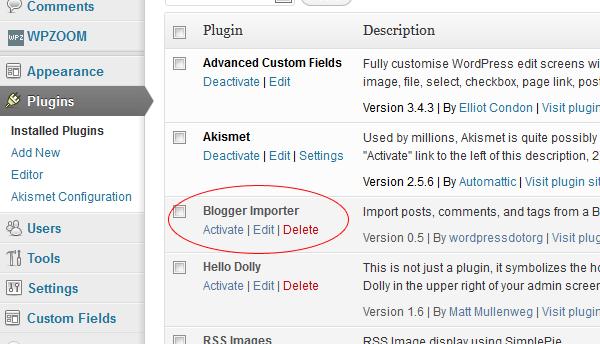 blogger-importer-delete