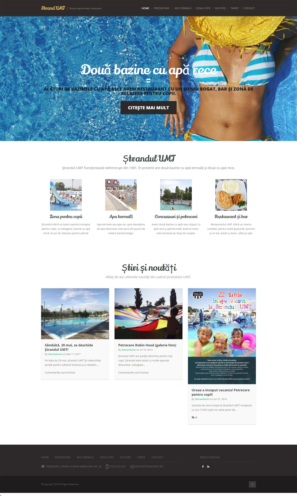 strand wordpress