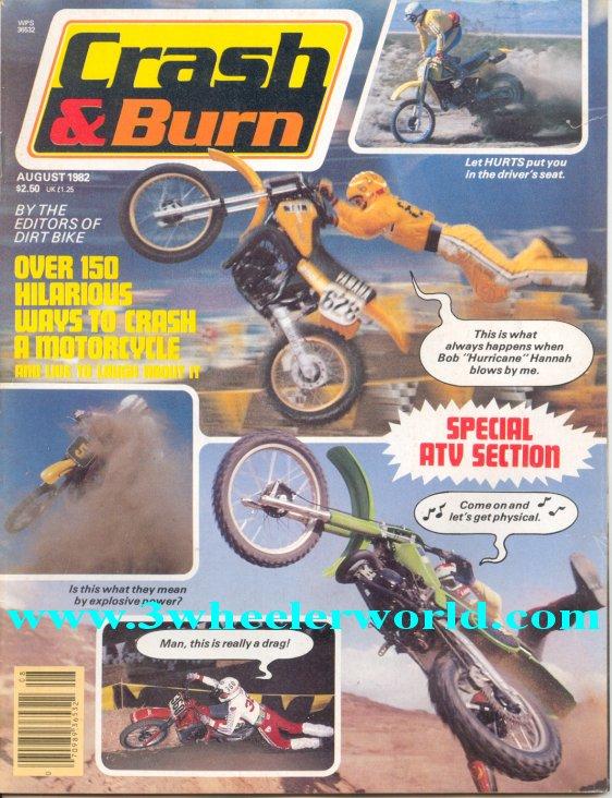 3 WHeeLeR WoRLD Crash  Burn Magazines