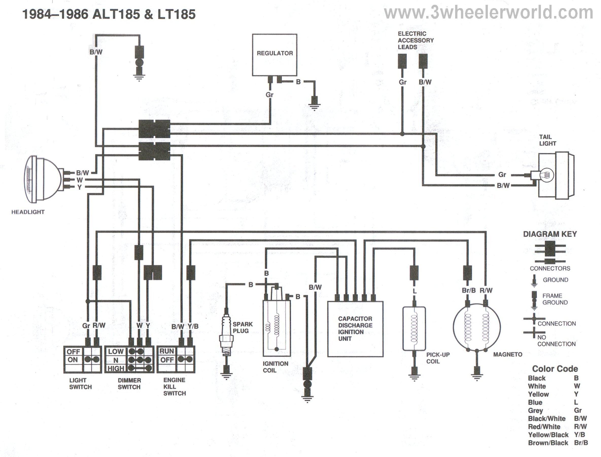 86 suzuki lt230 wiring diagram