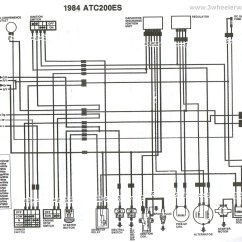 1982 Honda Gl1100 Wiring Diagram 1995 Lexus Ls400 Radio Trx 200 Msd Ignition