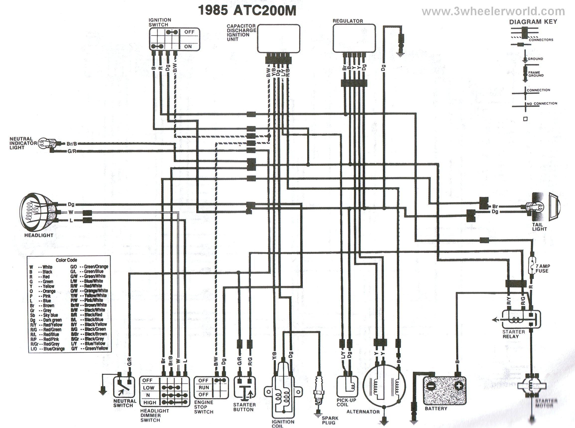 1980 honda goldwing 1100 wiring diagram
