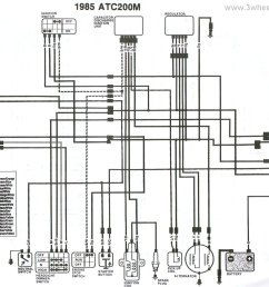 wiring diagram 1985 honda big red wiring diagram todays3 wheeler world tech help honda wiring diagrams [ 2308 x 1717 Pixel ]