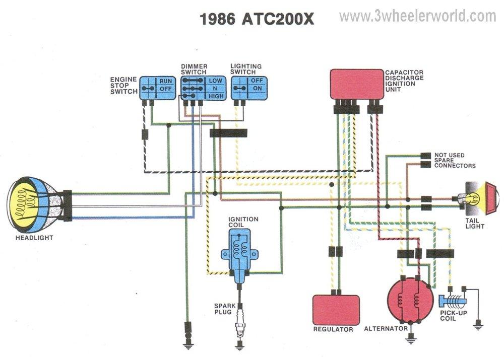 medium resolution of 6v motorcycle headlight wiring diagram honda