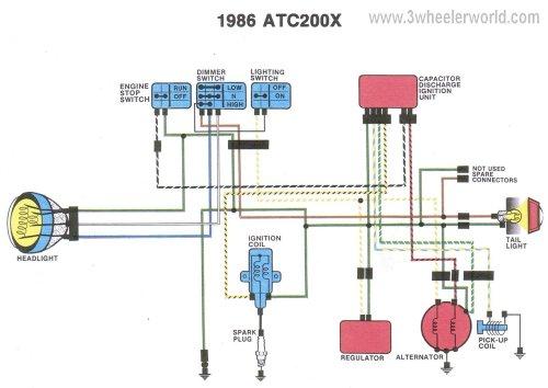 small resolution of 6v motorcycle headlight wiring diagram honda