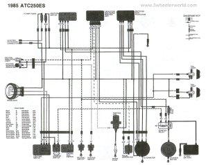 [WRG8228] 1987 Honda Xlr 250 Wiring Schematics