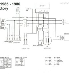 honda foreman 350 wire diagram blog wiring diagram 1986 honda fourtrax 350 wiring diagram schematic wiring [ 2746 x 1866 Pixel ]