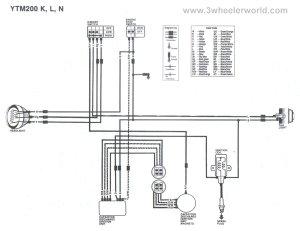 Wiring Diagram 4 Stroke 200 Cc | Wiring Library