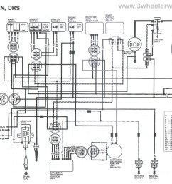 yamaha 225 three wheeler wiring wiring diagram explained suzuki 4 wheeler wiring diagram besides suzuki wiring harness diagram [ 2253 x 1693 Pixel ]