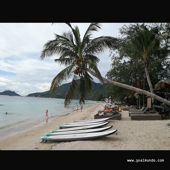 playa de Sairee Koh Tao