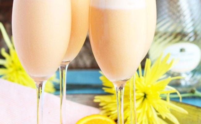 Pineapple Orange Creamsicle Mimosas 3 Yummy Tummies
