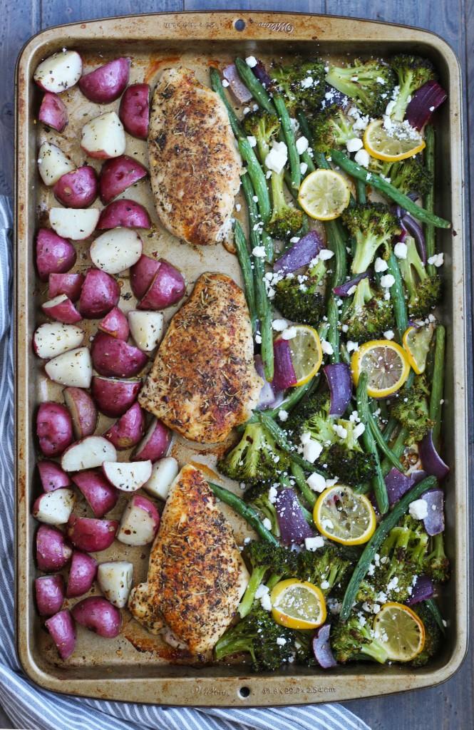 Mediterranean-Sheet-Pan-Chicken-and-Vegetables-4