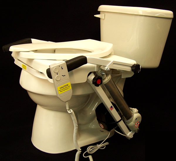 seat lifts for chairs chair covers at walmart assistivetech net tush push toilet lift
