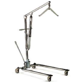 Hoyer Chrome 2 Point Cradle Manually Operated Patient Lift