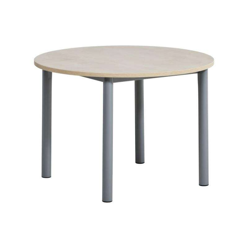 Table en pin ronde awesome table de lit roulante ikea for Table de cuisine en pin