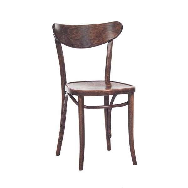 Chaise brasserie en bois  4 Pieds  tables chaises et