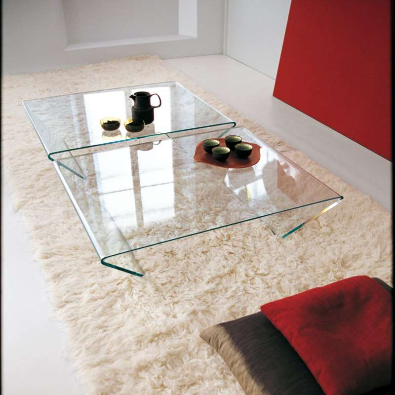 Table Basse Design En Verre Rubino Sovet