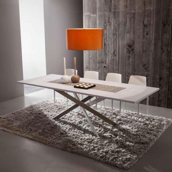 Table De Salle Manger Design Extensible En Fenix Renzo