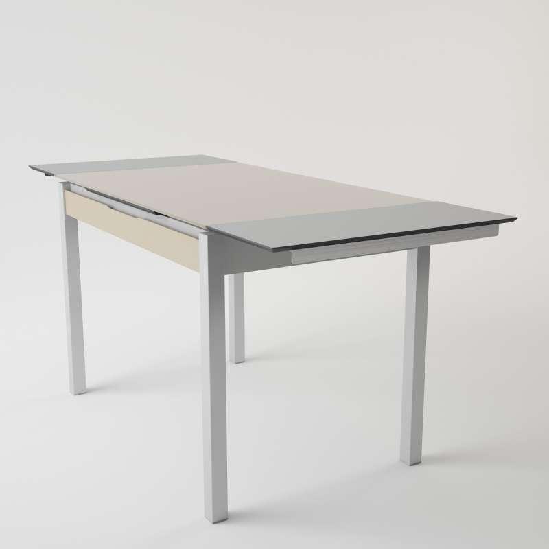 table de cuisine en verre trempé