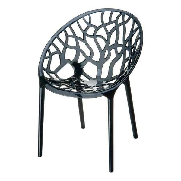 Chaise design en plexi Crystal