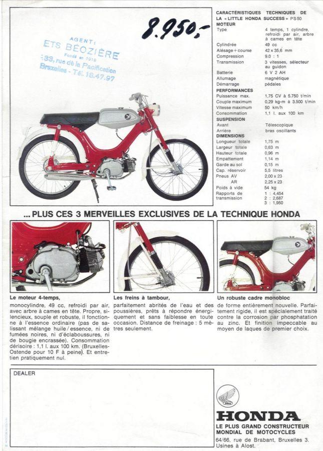 Honda PS50 folder 2