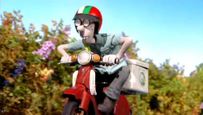 Honda Super Cub C90 - shaun-the-sheep-ep.11