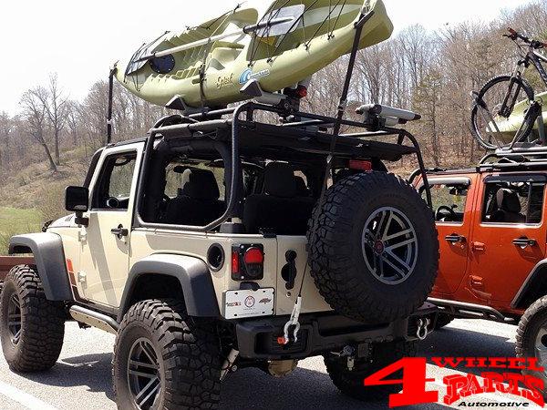 jeep wrangler kayak rack soft top