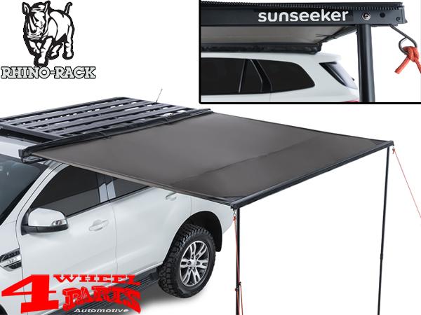 rhino rack sunseeker iii awning 2500 mm