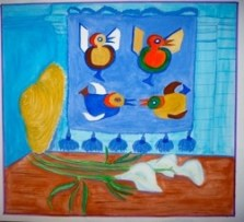 Exotic Birds by Brian Woollard