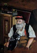 Regent's Canal by Helen Norfolk Oil on Canvas