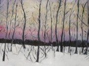 Black Trees by Janice Andrews