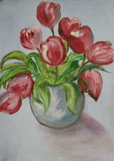 Tulips by Janice Andrews