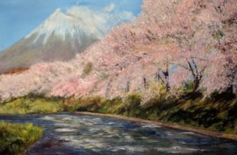 Spring in Japan by Chie McCarthy-£250