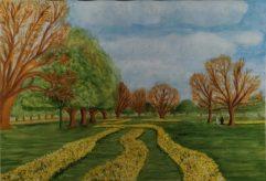 Springtime-Ealing Common by Brian Woollard-£100