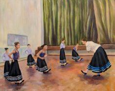 The Dancers by Soyeun Margolin-£85