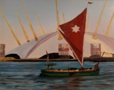 The Thames Old & New by Geraldine Wood-£85