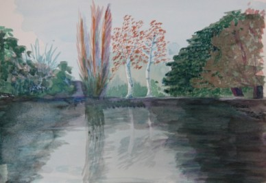 Watercolour by Val Cloake