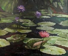 Water Lily by Liza Leong