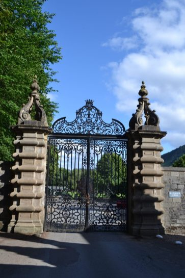The gate to camp