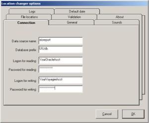 Gary Strawn Configuration Screenshot
