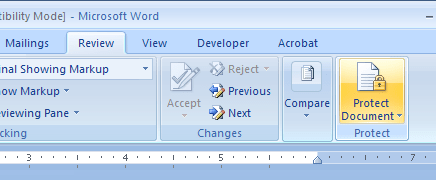 locked word document edit
